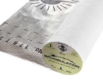spunsulation reflective foil insulation