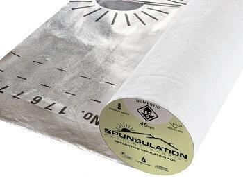 spunsulation reflective foil insulation