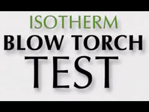 Isotherm Insulation Fire Test/Rating - Home Insulations