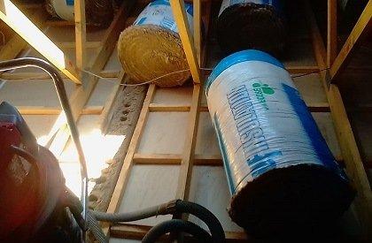 roof vacuum home insulations